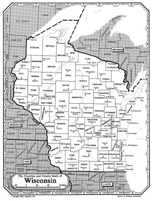 Wisconsin County Resources Rootsweb