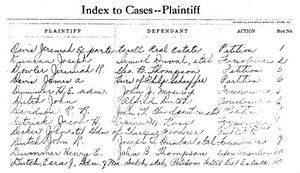 Researching Court Records - Rootsweb