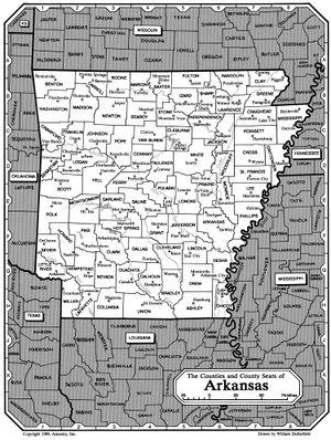 Boone County Arkansas Map.Boone County Arkansas Rootsweb
